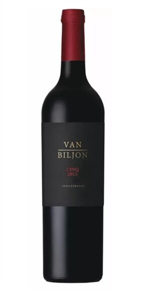 Minnegoed Wines Van Biljon Cinq 2015