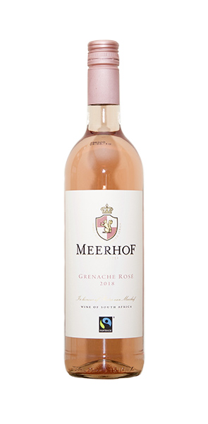 Minnegoed Wines Grenache Rose Bottle