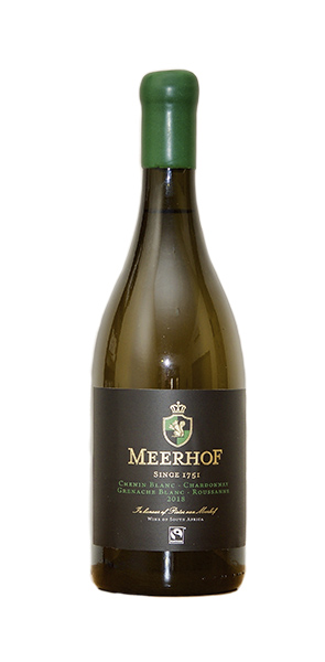 Minnegoed Wines Meerhof Premium White Blend Bottle