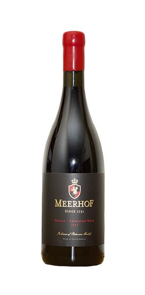 Minnegoed Wines Meerhof Premuim Red Bottle