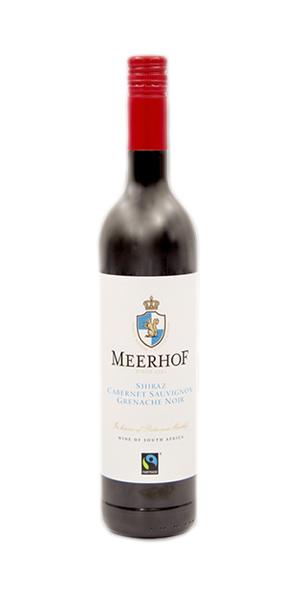 Minnegoed Wines Meerhof Red Blend Bottle