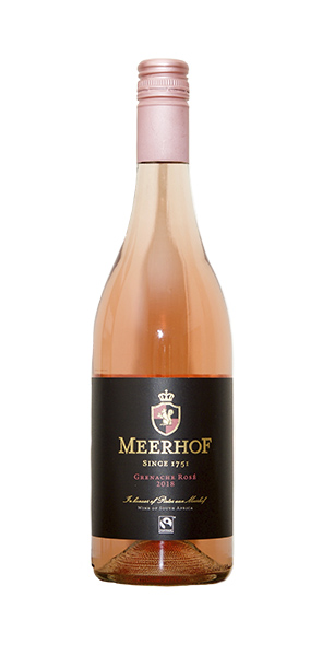 Minnegoed Wines Premuim Rose Bottle