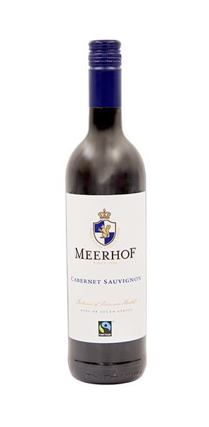 Minnegoed Wines Meerhof Cabernet Sauvignon Bottle
