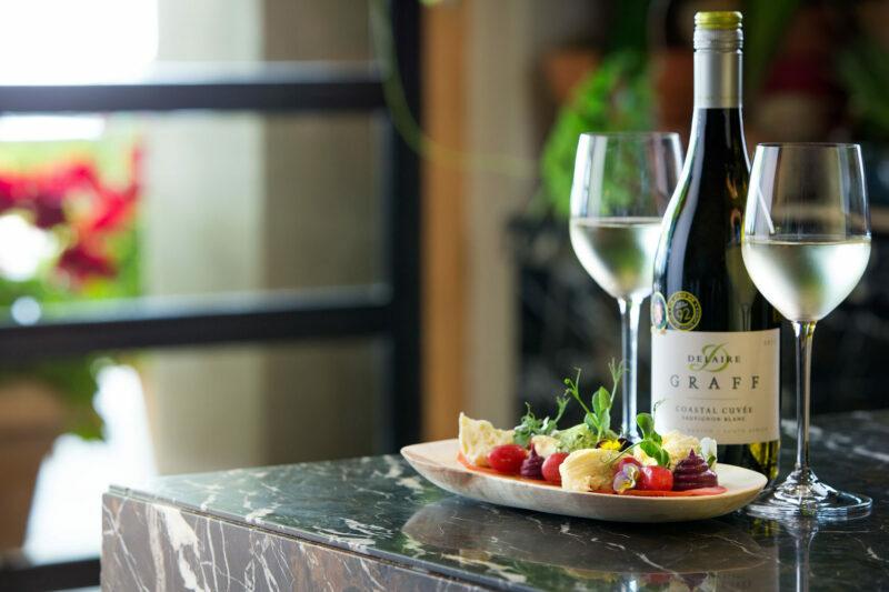 Minnegoed Wines Delaire Sauvignon Blanc